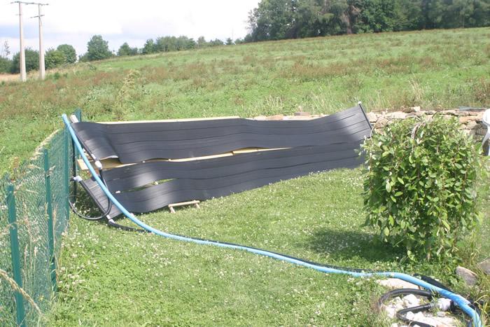 Chauffage solaire pour piscine naturelle escout moi voir for Chauffage pour piscine