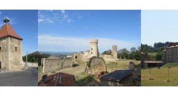 Château de la Faye à Olmet au départ d'Augerolles