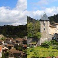 Châteldon, bourg médiéval au pied des Bois Noirs