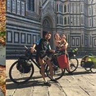 Orléans - Naples à vélo